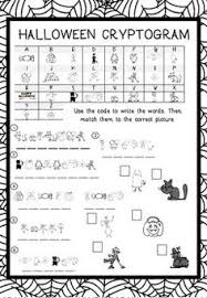 grade 5 worksheet cryptogram cryptic message