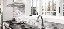 35 Beautiful Kitchen Backsplash Ideas Simple Black And White Kitchen Backsplash 35 Beautiful Kitchen