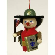 the american boy scout wooden ornament christian steinbach