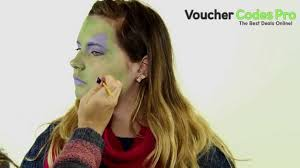 how to easy witch face paint halloween makeup tutorial youtube