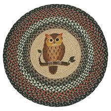 earthrugs owl printed area rug u0026 reviews wayfair