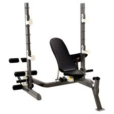 marcy folding olympic weight bench heavy duty construction with