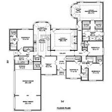 5 Bedroom House Plan by House Plan 5445 00183 Luxury Plan 7 670 Square Feet 5 Bedrooms