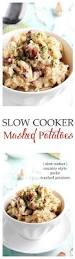 check out slow cooker country style garlic mashed potatoes it u0027s