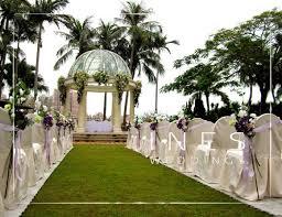 wedding arches gold coast outdoor wedding ceremony decoration at gold coast hotel