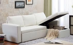 Cheap White Leather Sectional Sofa Incadozo 2pc Bi Cast Leather Sectional Sofa Bed With Storage In