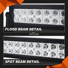 700w cree 52inch led work light bar combo spot u0026flood driving