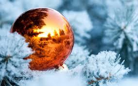 christmas tree branches balls decoration new year idolza