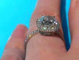harry winston engagement rings prices loving my harry winston cushion pave ering