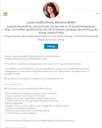 Resume Bio Examples by Linkedin Profile Writer Linkedin Expert On Seo U0026 Personal Branding