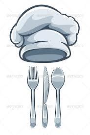 kitchen forks and knives kitchen utensils fork knife spoon and cooks cap kitchen utensils