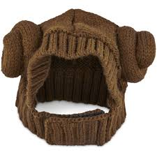 star wars knit princess leia hat l xl petco store vegas