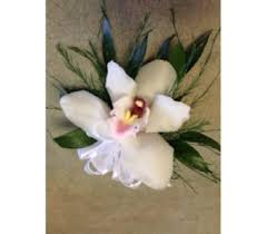 White Orchid Corsage Prom Corsage Delivery Markham On Metro Florist Inc