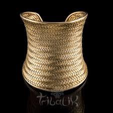 gold plated sterling silver bracelet images 22k gold plated sterling silver woven bracelet tribalik jpg