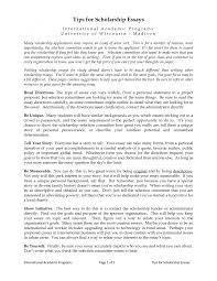 Perfect Essay Format Writing Scholarship Essays Format