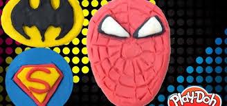 batman spiderman u0026 superman play doh kids