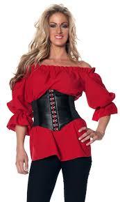 plus size pirate blouse plus size s 3 4 sleeve renaissance peasant blouse