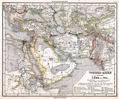 Kabul Map The British Empire And The Middle East Maps