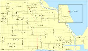 Chicago Street Map by File Rushst Chicago Map Svg Wikimedia Commons