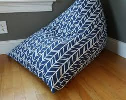 bean bag chair cover etsy