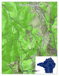 Creede Colorado Map by Rio Grande National Forest Projects