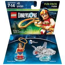 lego dimensions dc comics wonder woman fun pack lego dimensions