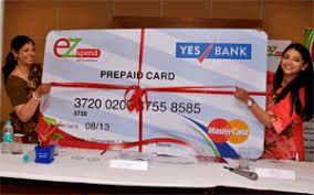 bank prepaid cards yes bank and ezspend launches prepaid cards on mastercard platform