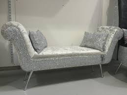 Velvet Chaise Lounge Stunning Ended Chaise Lounge Bedroom Seat The Glitter