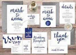 Wedding Stationery Sets The 25 Best Navy Wedding Invitation Sets Ideas On Pinterest