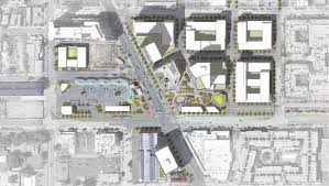 Huge Floor Plans by New Look Emerges For Huge Development Around North Hollywood Metro