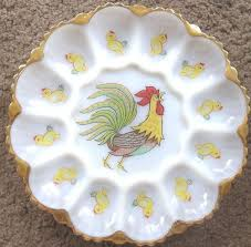 antique deviled egg plate 240 best deviled egg trays images on boiled eggs