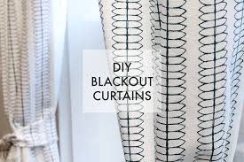 Blackout Curtains We Can Make Anything Diy Blackout Curtains