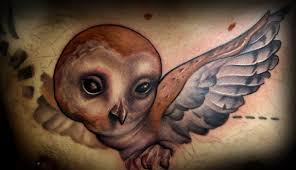 barn owl tattoo unfinished tattoos
