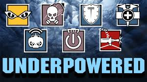 underpowered operators made great again r6 siege montage youtube
