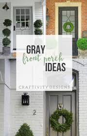green front porch light 3 gorgeous grey front door ideas for your porch exterior colors