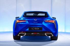 lexus lc500h gas mileage lexus publishes new lc 500h images