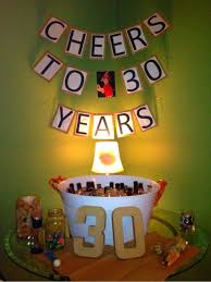30th birthday decorations 30th birthday decorations for guys party city birthday