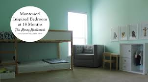 What Is A Montessori Bedroom Montessori Spaces U2013 This Merry Montessori