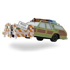 national lampoon u0027s vacation family truckster takes flight ornament