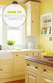 How To Paint The Kitchen Cabinets Kitchen Can You Paint Kitchen Cabinets Home Interior Design