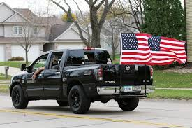 Confederate Flag Pickup Truck Kennedy High Students Walk Out To Protest Discrimination