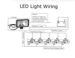 automatic led emergency light circuit wiring diagram components