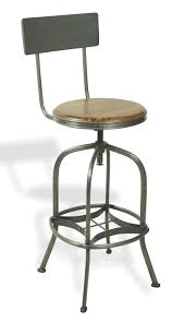 Industrial Bar Stool With Back Bar Stools With Back And Swivels But No Arms Tags Bar Stool With