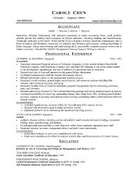 cpa resume summary accounting resume summary statement examples