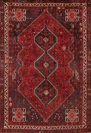 6x8 Area Rug Ghashghaei Shiraz Persian Area Rug