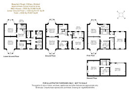 house plan 45 8 62 4 7 bed detached house for sale in beaufort road clifton bristol