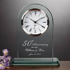 anniversary clock gifts this engraved anniversary clock is gorgeous you can the