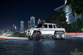 mercedes 6x6 mercedes benz g63 amg 6x6 in white off road vehicel owned by