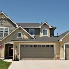 garage door colors ideas garage door black goes with house best