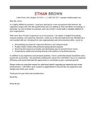 Cover Letter For Chartered Accountant Leading Professional Accounting Assistant Cover Letter Exles